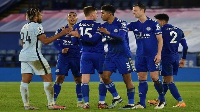 KLASEMEN Liga Inggris, Leicester City Kalahkan Chelsea, Rebut Posisi Puncak dari Manchester United