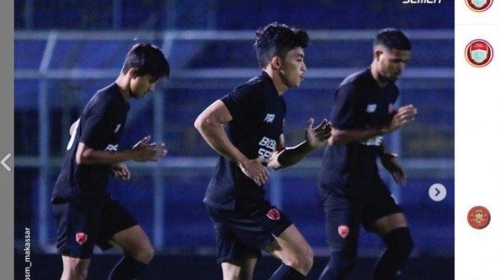 Hadapi Persija Jakarta Malam Ini, Kapten PSM Makassar Zulkifli Syukur Pompa Semangat Pemain Muda