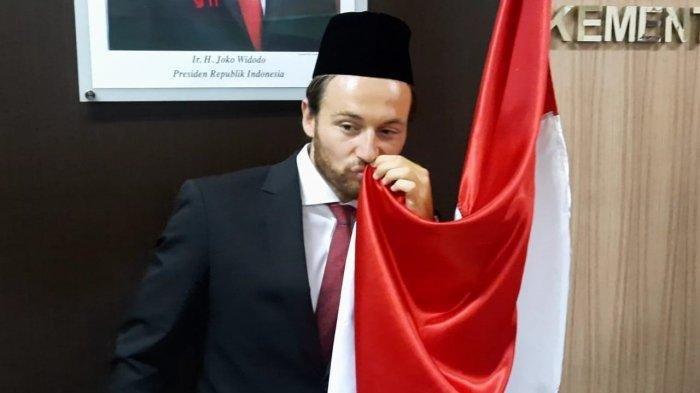 Marc Klok Resmi Jadi Warga Negara Indonesia, Pemain Persija Jakarta Jalani Sumpah di Kemenkumham