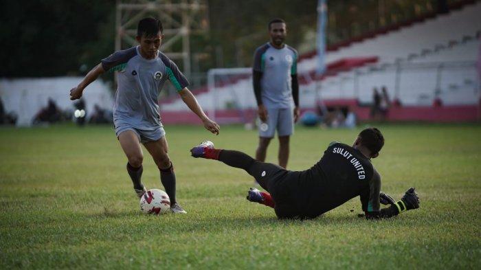 Sebulan Latihan Fisik, Beberapa Pemain Sulut United Cedera Ringan