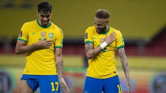 LIVE STREAMING Brasil vs Peru, Laga Semifinal Copa America 2021, Link Nonton di Sini