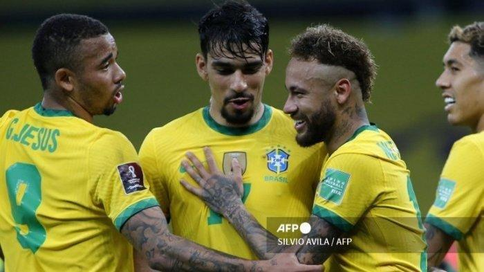 SEDANG BERLANGSUNG Live Streaming Brasil vs Argentina: Misi Balas Dendam Tim Samba