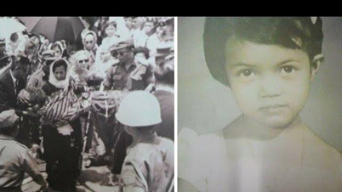 Pemakaman Ade Irma Suryani pada 6 Oktober 1965.