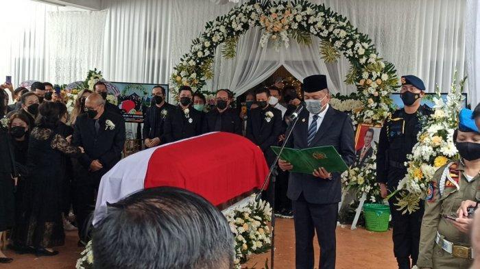 Pemakaman Jenazah Dr Sinyo Harry Sarundajang