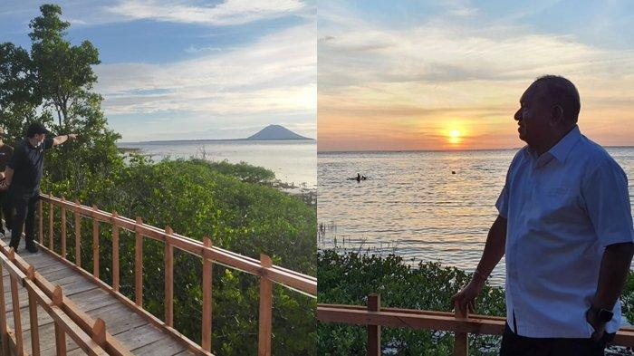 Nikmati Panorama Sunset dari Hutan Mangrove Desa Budo