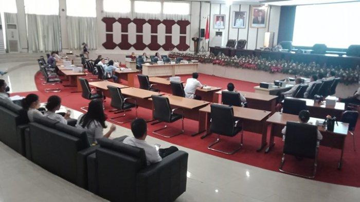 TAPD Pemkot Manado Dicecar Anggota Lily Binti Cs