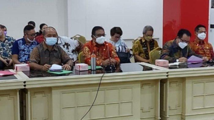 Wabup Talaud Moktar Parapaga Ikuti Rapat Penyelesaian Kerugian Negara