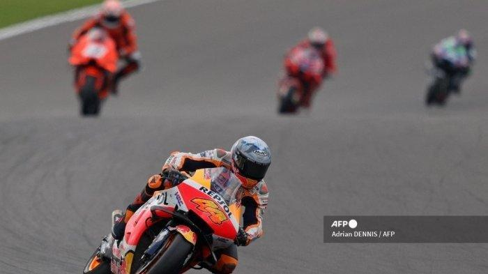 Link Live Streaming MotoGP Inggris 2021: Pebalap Repsol Honda Pole Position, ValentinoRossi?