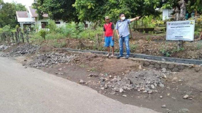Proyek Drainase dan Jalan di Pakuweru Akhirnya Terealisasi