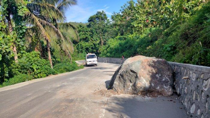 Pembangunan ruas jalan Desa Inomunga, Komus, Tuntung disorot warga setempat