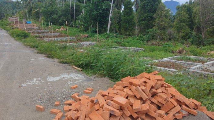 Pembangunan/relokasi Rumah Terdampak Banjir Bandang di Kabupaten Bolmong Selatan, Provinsi Sulawesi Utara