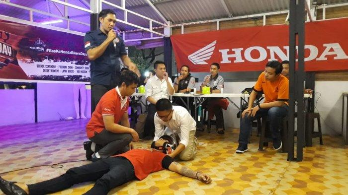 60 Persen Penyebab Lakalantas Faktor Manusia, Honda DAW Edukasi Safety Riding
