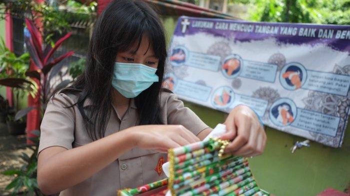 BERITA FOTO: Uji Coba Pembelajaran Tatap Muka Terbatas SD dan SMP di Manado