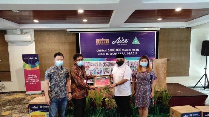 Peduli Penanganan Covid-19, Aice Bagikan 20 Juta Masker Medis di Seluruh Indonesia