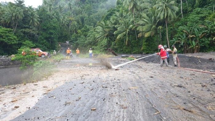 Potensi Banjir Lahar Dingin Gunung Karangetang, Masyarakat Sitaro Diminta Waspada