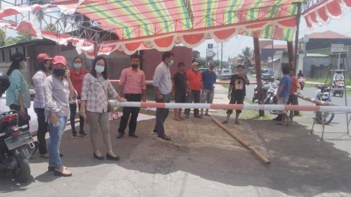 Genjot Vaksinasi, Kecamatan Tombatu Utara Minahasa Tenggara Bangun Pos Vaksin