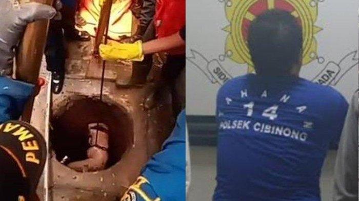 Begini Jalan Cerita Pelaku Bunuh Guru Ngaji di Cibinong: Ditangkap hingga Dimasukkan ke dalam Sumur
