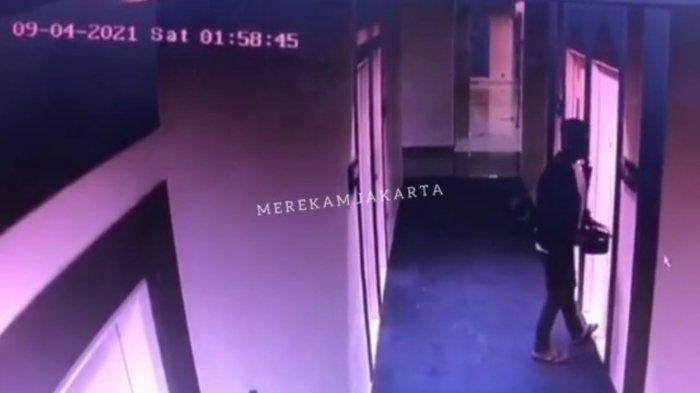 Pelaku Pembunuh Wanita di Hotel Picasso Inn Masuk Bawa Ponsel, Saat Keluar Kamar Tiba-tiba Bawa ini