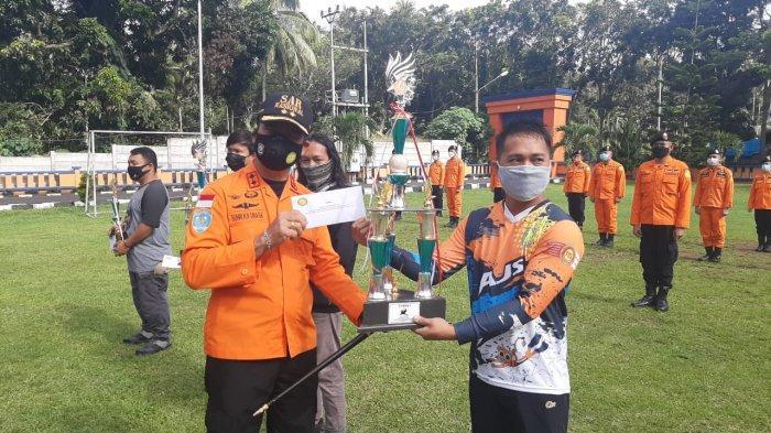 Octries Katameri Tak Menyangka Juara Lomba Vertical Rescue yang Digelar Basarnas Manado