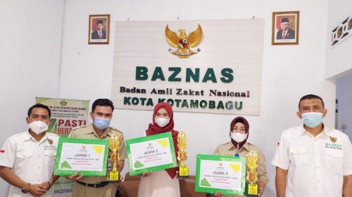 Baznaz Kotamobagu Umumkan Hasil Lomba Wastafel Unik Tahun 2021