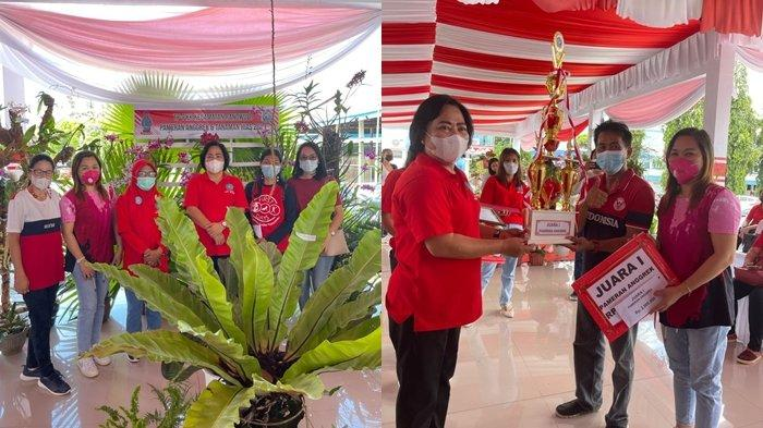 Kecamatan Ranowulu Bitung Tampilkan Bunga Hias, Harga Jualnya Rp 100 Juta
