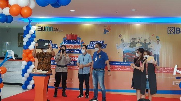 Tinny Dapat Mobil Gratis, Berikut Pemenang Simpedes BRI Manado Periode Sep 2020-Feb 2021