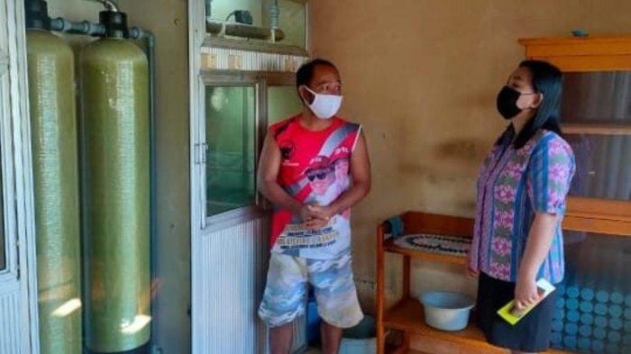 Dinas Kesehatan Kotamobagu Turunkan Tim Periksa Kualitas Air di Depot Pengisian Ulang