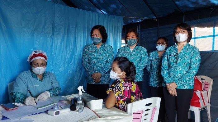 Ibu Hamil Penyintas Kebakaran Pasar Tua Bitung Ini, Menitikkan Air Mata Usai Periksa Kandungan