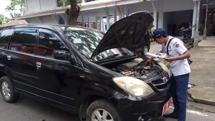 Seluruh Kendaraan Dinas di Pemkab Sitaro Diperiksa