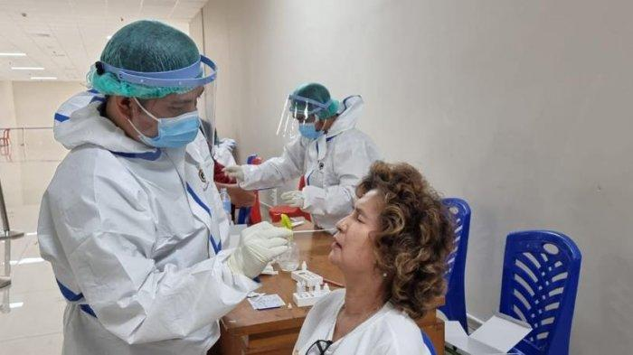 Lokasi Skrining Rapid Antigen dan Swab PCR Dinkes Sulut Pindah di Eks Kantor Pajak Pratama Jalan 17