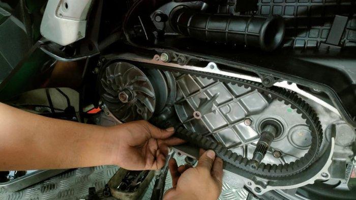Tips Honda, Cara Merawat V-Belt Motor Skutik Agar Aman Saat Berkendara