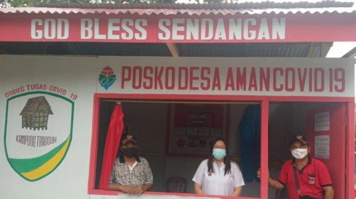 Desa Sendangan Remboken Kabupaten Minahasa Perketat Posko Covid-19