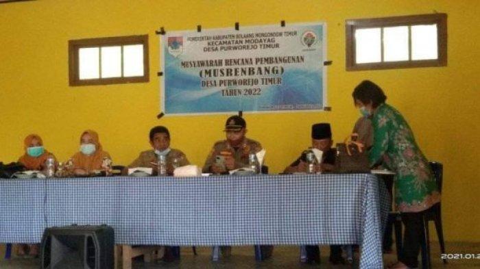 Desa Purworejo Timur Selesai Gelar Musrenbang, Bahas Soal Usulan Tahun 2022
