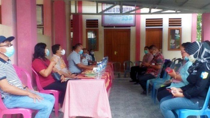 Pemerintah Desa Saleo Satu saat menggelar pertemuan sosialisasi penanganan Stunting.