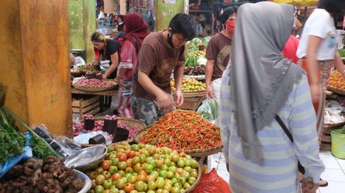 Tekan Angka Penyebaran Covid-19, Pemkab Minahasa Perketat Aturan Prokes di Pasar Tradisional
