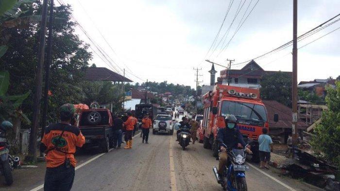 BREAKING NEWS, Besok Jalan Trans via Gunung Potong Minahasa Tenggara Ditutup Sementara