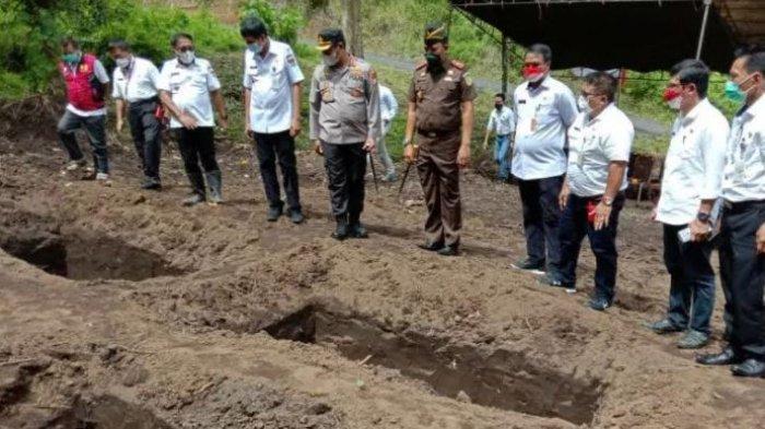 Kabupaten Minahasa Tenggara Miliki Lahan Pemakaman Khusus Covid