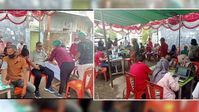 Warga di Kelurahan Islam Antusias Ikut Program Vaksin Hebat Pemerintah Kota Manado Sulut