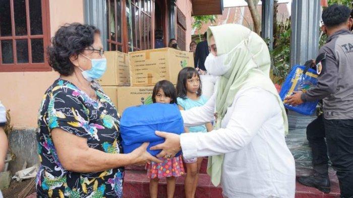 Pemkot Kotamobagu Bantu Korban Kebakaran di Kelurahan Kotobangon