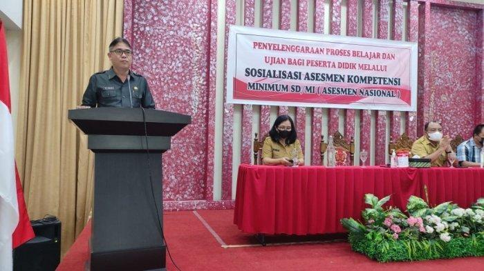 Mewakili Wali Kota Caroll Senduk, Toar Pandeirot Paparkan Terkait Assesmen Nasional