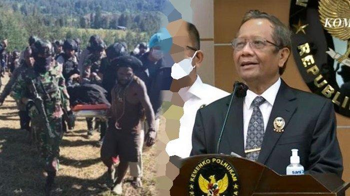 Pemerintah melalui Menteri Koordinator Bidang Politik Hukum dan Keamanan, Muhammad Mahfud MD telah resmi menyatakan Kelompok Kriminal Bersenjata Papua sebagai terorisme.