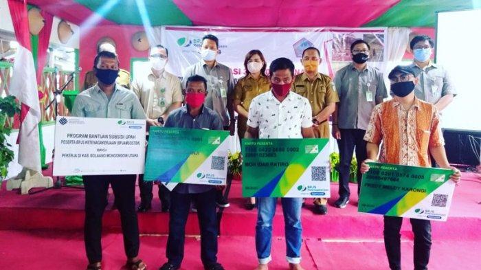 Pemkab Bolmut Sosialisasikan Program 36.000 Perlindungan Sosial Bagi Buruh-Tani