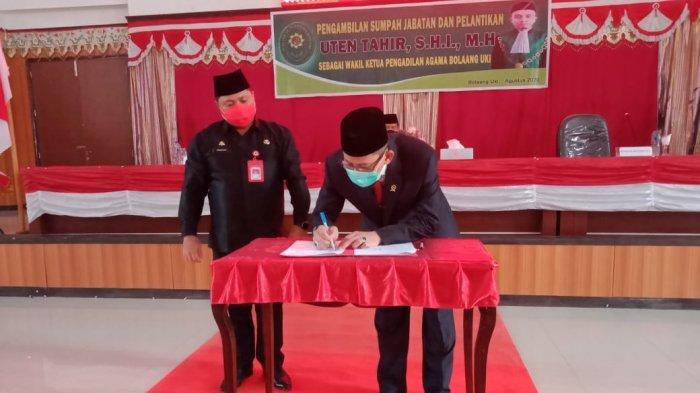 Pemkab Bolsel Hibakan 1,5 Hektare Tanah Bangun Kantor Pengadilan Agama Bolaang Uki