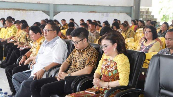 Pemkab Minsel Gelar Ibadah Awal Bulan, Bupati Ingatkan Pemilu 17 April