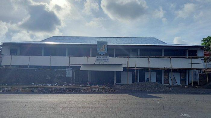 Rehab Eks Kantor Bupati Bolmong Sudah 16 Persen, Bakal Digunakan Sebagai Tempat Kuliah UDK