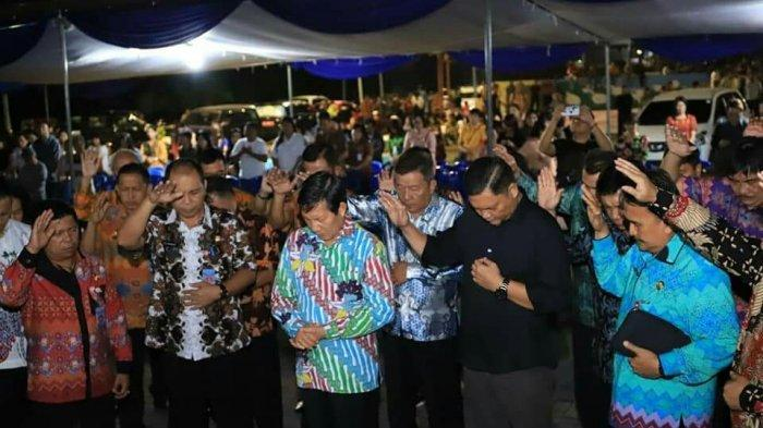 Pemkot Manado GelarKebaktian Kebangunan Rohani di Kecamatan Sario