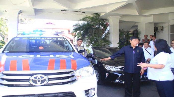 Miliki Mobnas Baru, Walikota Vicky Lumentut Gelar Doa Bersama Patwal 901 Manado