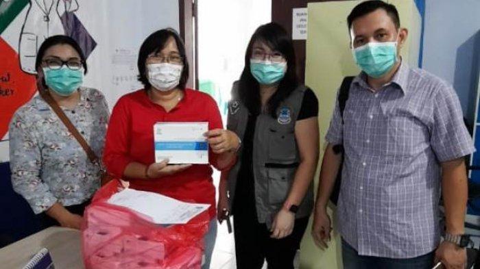 Pemprov Pasok 20.400 Dus Masker dan 3.370 APD, Kumendong: Prioritas ke RS dan Pemda se-Sulut