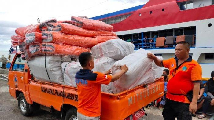 Pemprov Sulut Kirim Beras hingga Tikar untuk Korban Banjir Bandang Lebo Sangihe