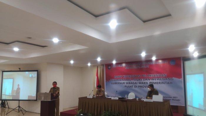 Pemerintahan Gubernur Sulawesi Utara (Sulut) Olly Dondokambey dan Wakil Gubernur Steven Kandouw menggelar kegiatan rapat koordinasi (Rakor)